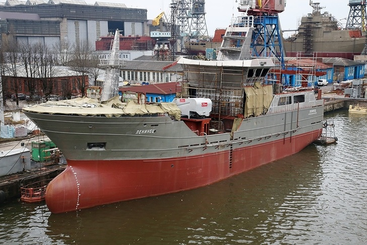 Строительство рыболовецких судов