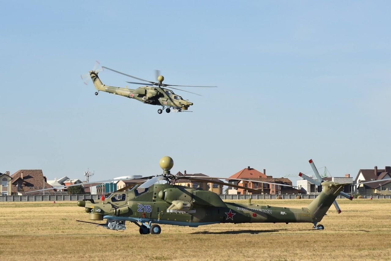 Первые серийные вертолеты Ми-28УБ для ВКС России