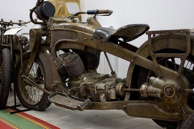 ИЖ-1 - первый мотоцикл ижевского мотоциклетного завода