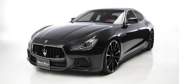Японцы анонсировали агрессивный обвес для Maserati Ghibli