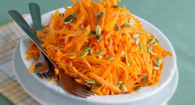 Салаты из тыкввы — пять лучших рецептов