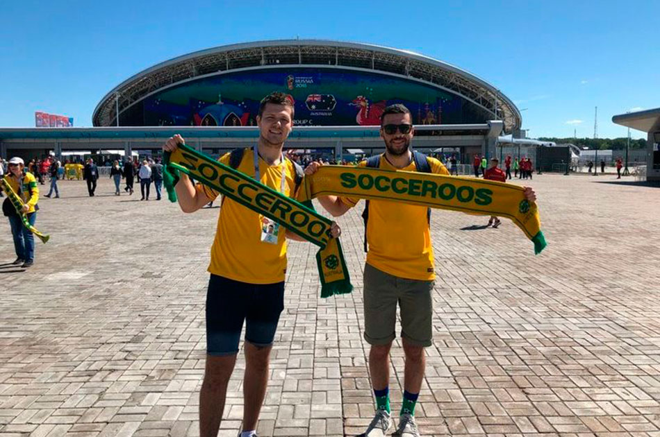 Австралийцы в Казани