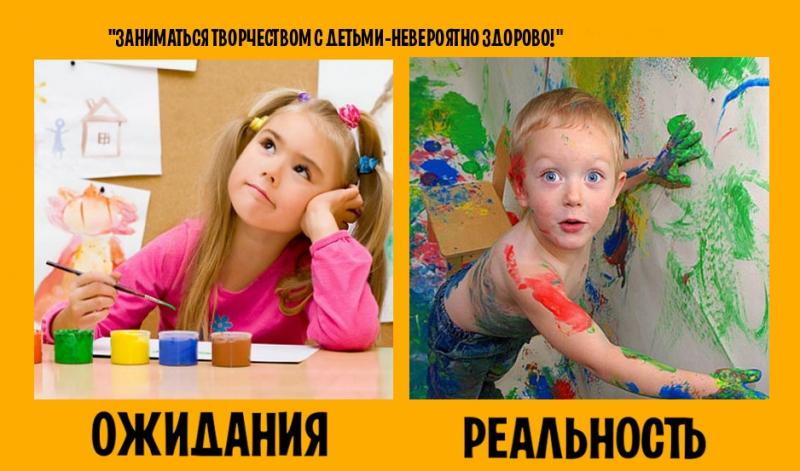 фото ожидание и реальность дети