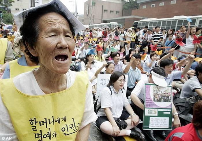 Сексуальное насилие поссорило Сеул и Токио