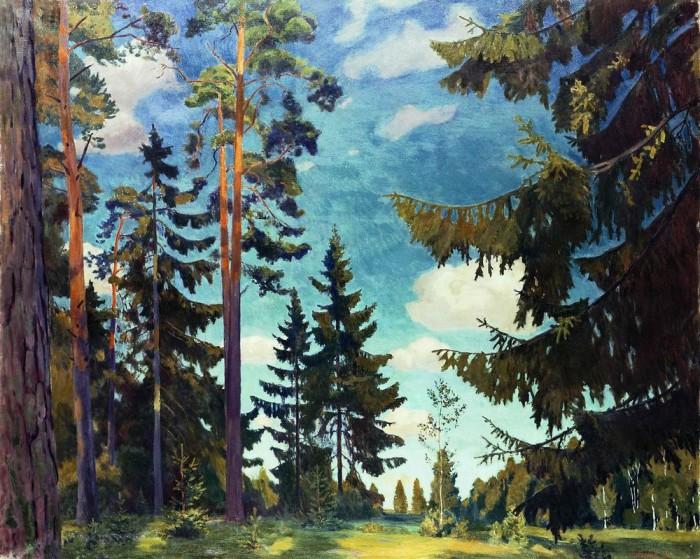 пейзажи художник Аркадий Рылов - 10