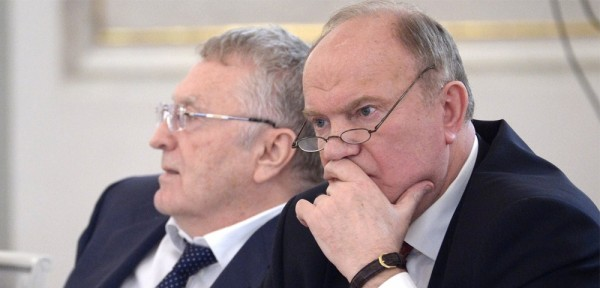 Реакция КПРФ и ЛДПР на «нака…