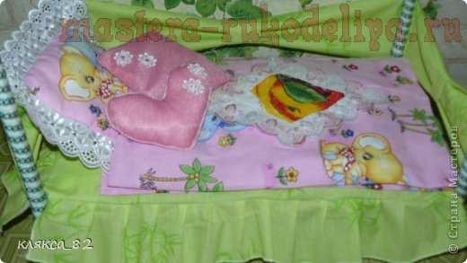 Как сшить постельное бельё для куклы своими руками