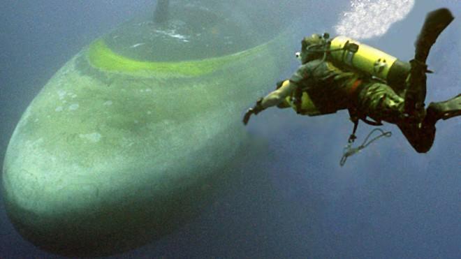 Спасение подводной лодки: тренировка подводного спецназа