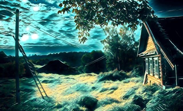 Возвращение с того света. Случай в деревне. Это случилось в небольшой сибирской деревушке.