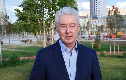 Собянин: основные работы по благоустройству в парках Москвы будут завершены до 1 сентября