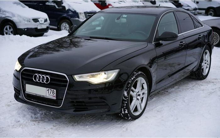 А-Жесть. Audi A6 2011 года. Такого ведра вы ещё не видели