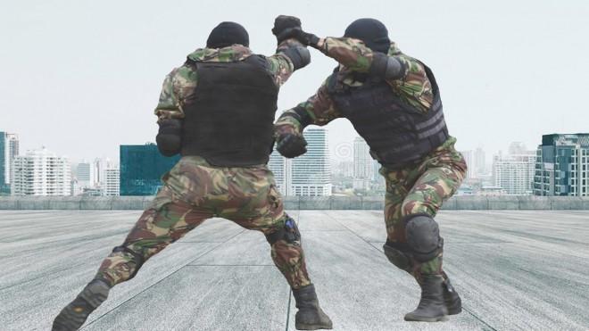 Армейские поединки спецназа «Альфа»