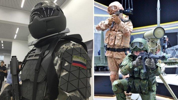 Испытания российского экзоскелета попали на видео