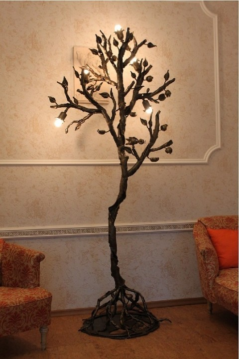 Как сделать металлическое дерево 710