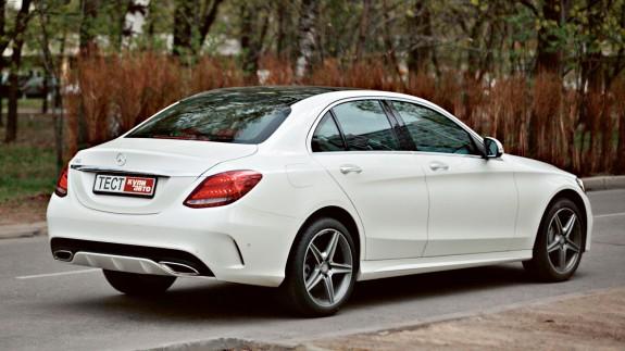 Mercedes-Benz С-класса: пятна Роршаха