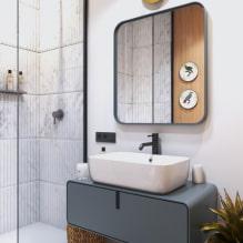 Как оформить ванную комнату в светлых тонах?-1