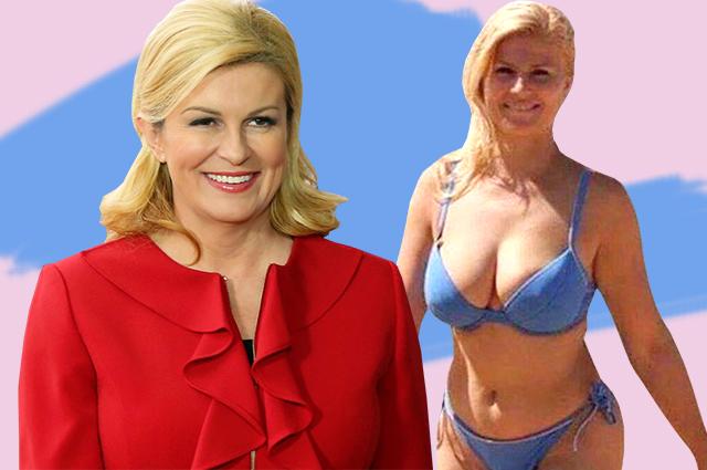 Президент Хорватии и секс-бомба — кто такая Колинда Грабар-Китарович