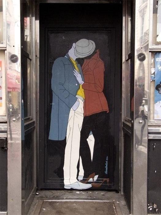 Поцелуи большого города