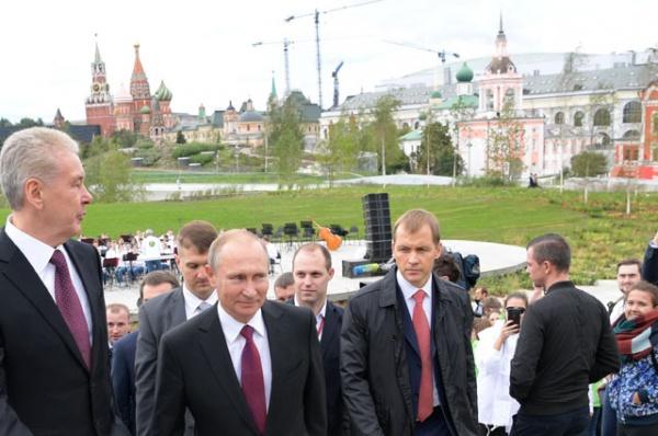 Путин: Москва стала законодательницей мод покачеству городской среды
