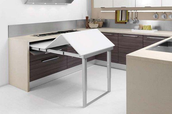 Если на кухне нет места для стола… Несколько идей