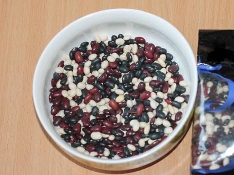 Фасолевые зразы с тыквой и вареным яйцом recipe step 1 photo