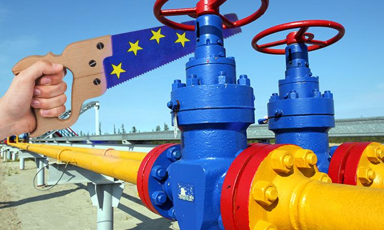 Европа воюет с российским газом