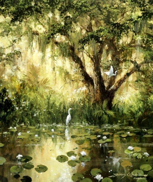 Гармония… В ней музыка природы…Фантастической красоты пейзажи Джеймса Коулмана