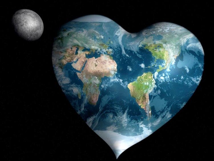 планета в форме сердца