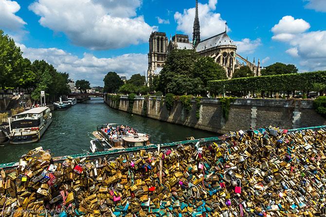 Следы любви в Париже