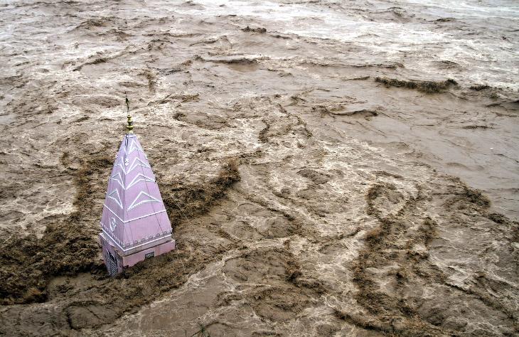 Историческое наводнение в Индии и Пакистане
