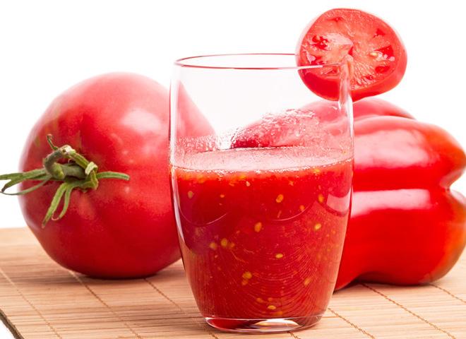 Томатный сок на зиму: рецепт с красным болгарским перцем