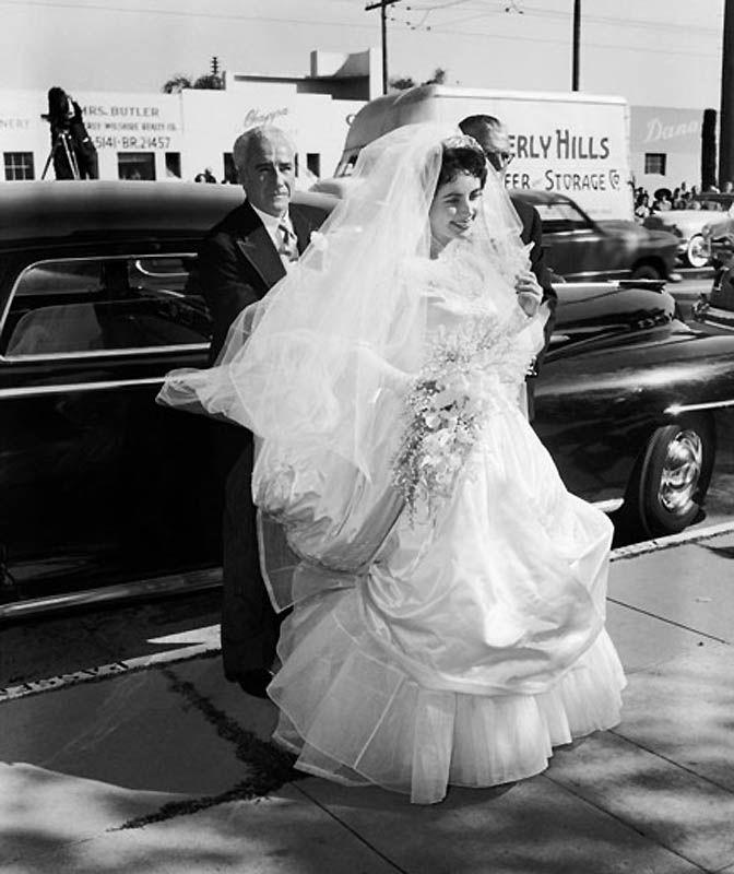 Первая свадьба Элизабет Тейлор (18 фотографий), photo:7