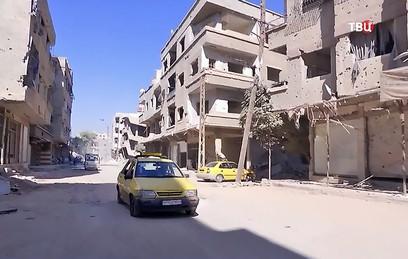 В пригороде Дамаска восстанавливают инфраструктуру