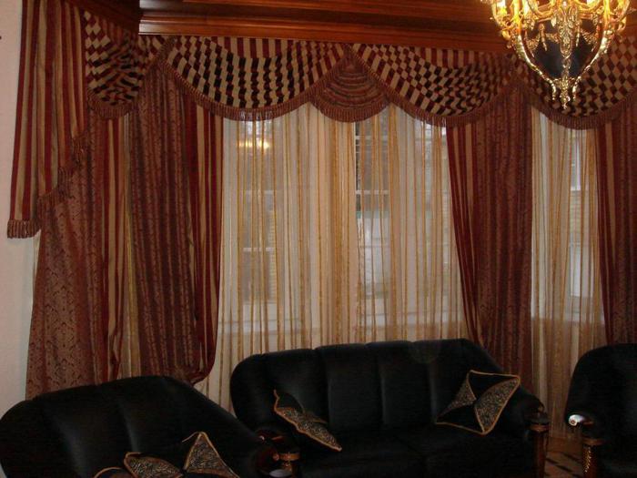 Такие шторы украсят любой уголок комнаты