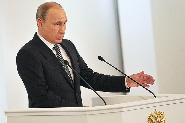 """Путин: первая подлодка-носитель """"Посейдона"""" будет спущена на воду уже весной"""