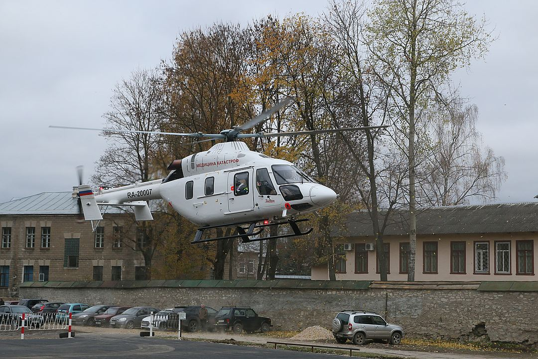 Госкорпорация «Ростех» предлагает создать единого оператора услуг санитарной авиации