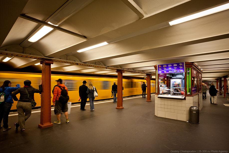 Berlin 22 Общественный транспорт Берлина