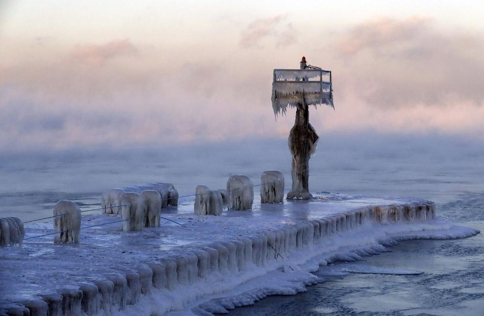 Замерзший мир в фотографиях