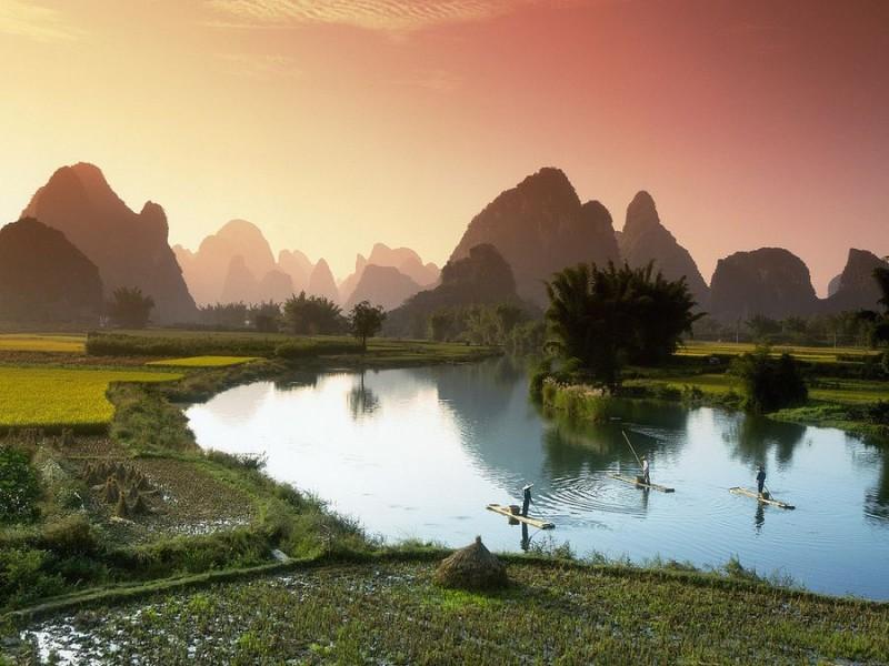 Riverof01 800x600 Красивые пейзажи китайской реки поэтов и художников