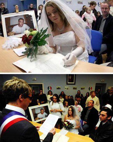 Самые странные браки в мире (9 фото)
