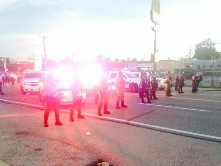 Спокойные Штаты? Акция протеста против жестокости полиции переросла в мародерство в США