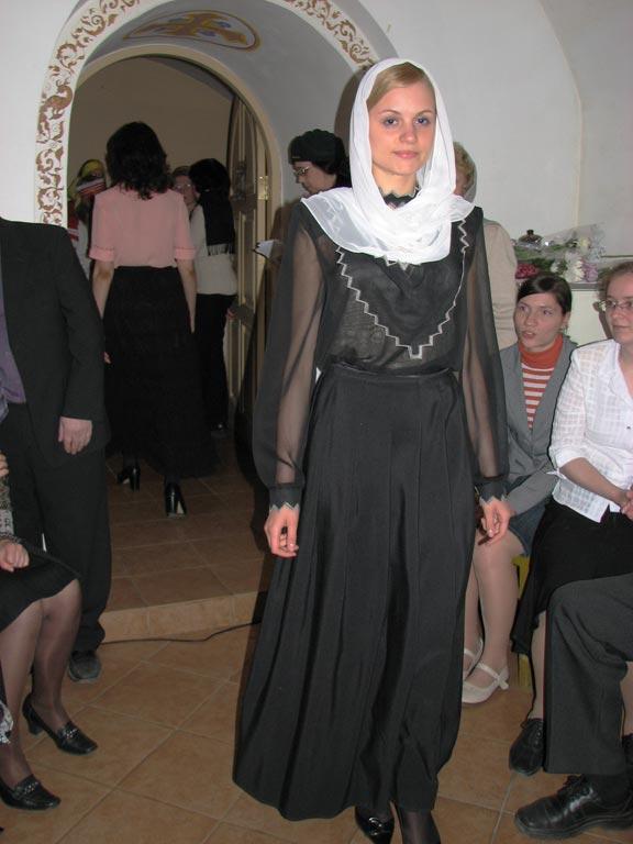 Длина юбки православная церковь