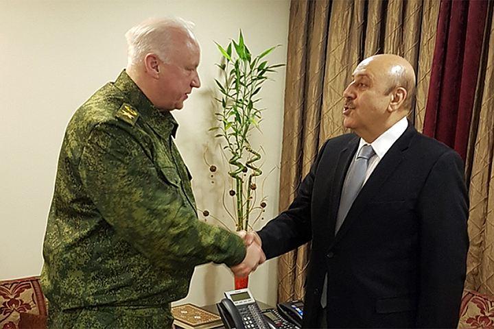 Бастрыкину в Сирии передали дела российских террористов