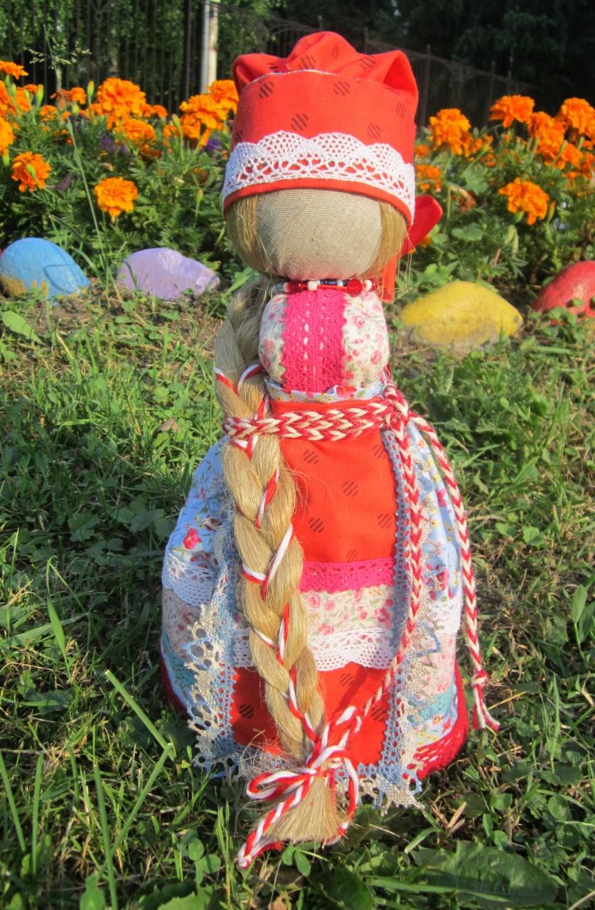 Свадебная народная кукла КрАсота