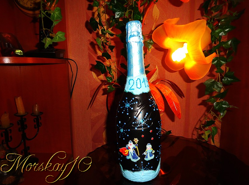 Morskay10. Праздничные бутылки