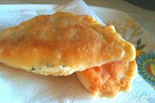 Пирожки «Минутка» с адыгейским сыром.