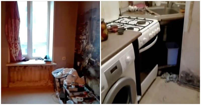 В этой квартире всего 13 кв. м., но семья преобразила их до неузнаваемости