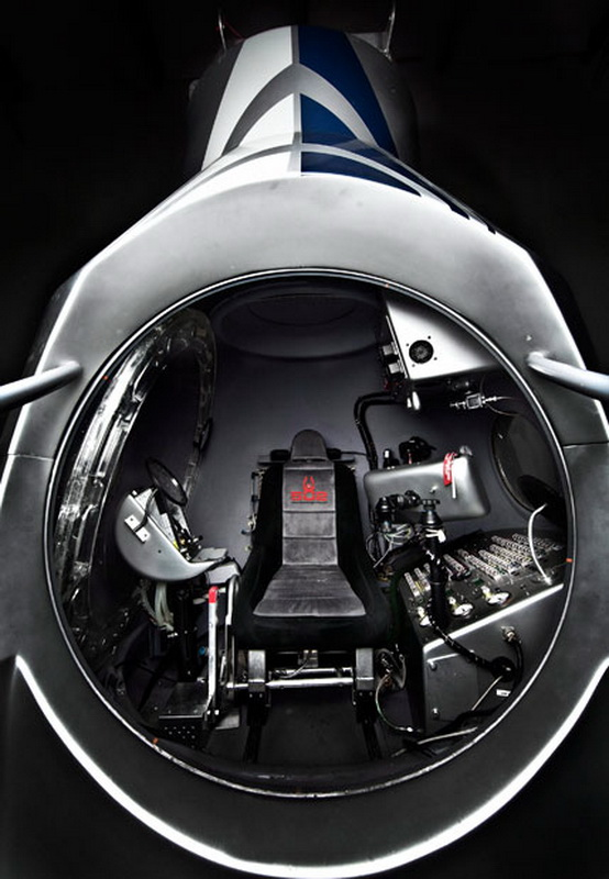 5104 Феликс Баумгартнер готовится к прыжку из космоса