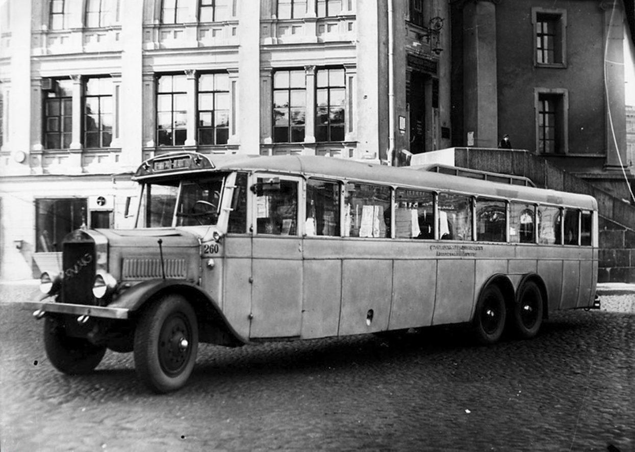 Уникальная техника СССР : автобус-гигант «ЯА-2»