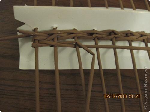 Мастер-класс,  Плетение, : Плетение квадратной (прямоугольной ) коробки Бумага газетная . Фото 12